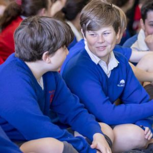 Students in Hillbrook Student Wellbeing Program