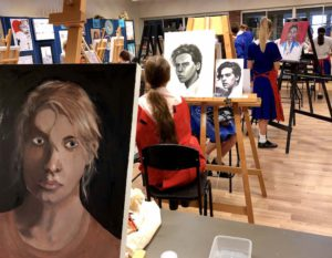 Hillbrook art classes